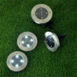 Kép 1/2 - Disk Light 4 db napelemes, leszúrható LED-es kerti lámpa