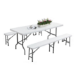 Kép 2/2 - Hordozható sörpad garnitúra