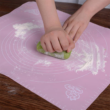 Kép 3/3 - Szilikon sütőlap, 50 x 40 cm, rózsaszín