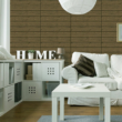 Kép 1/3 - Öntapadós 3D falmatrica fa hatású barna árnyalatú 70 x 70 x 0,6 cm
