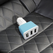 Kép 1/2 - Szivargyújtós 3-as USB töltő