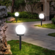 Kép 1/5 - Szolár leszúrható lámpa, gömb alakú, 2 db