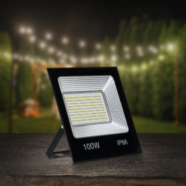 Flood Light LED reflektor, 100 W, 4500 lumen, IP66