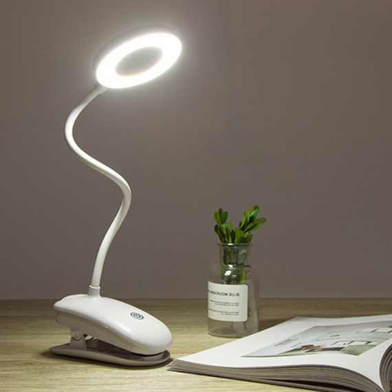 LED asztali lámpa tölthető akkumulátorral PC-6521 - Zöld