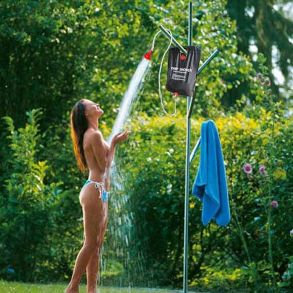 Hordozható kemping zuhanyzó 20L